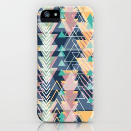 Triangle Tribe 2 iPhone Case