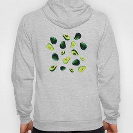 Avocado Pattern Hoody