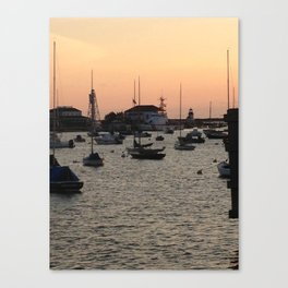 Nantucket at Sunset Canvas Print