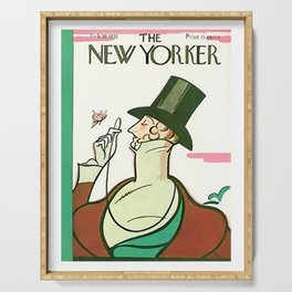 Vintage New Yorker Cover - Circa 1932-2 Serving Tray