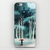 snow iPhone & iPod Skins featuring Snow by youcoucou