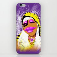 muppet iPhone & iPod Skins featuring Janice Muppet Parody by Gilles Rathé