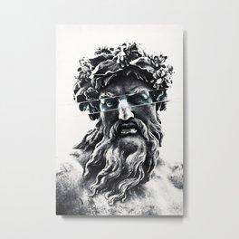 Zeus the king of gods Metal Print