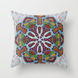 Dreams Mandala - מנדלה חלומות Throw Pillow
