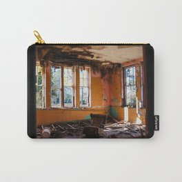 Orange Decay Carry-All Pouch