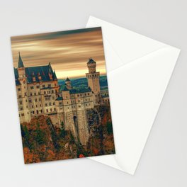 Magnificently Romantic Neuschwanstein Castle Schwangau Bavaria Germany Europe Ultra HD Stationery Cards