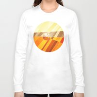 earth Long Sleeve T-shirts featuring Earth by Anai Greog