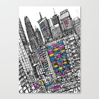 hong kong Canvas Prints featuring Hong Kong by Martin Mc