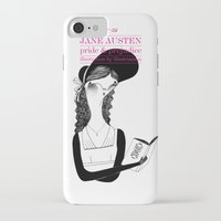 pride and prejudice iPhone & iPod Cases featuring Pride & Prejudice /// by illustrissima by illustrissima