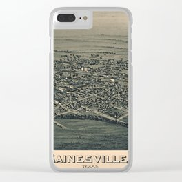 Gainesville 1891 Clear iPhone Case