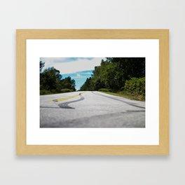 Street Tracks Framed Art Print