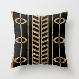 Art deco design II Throw Pillow