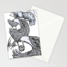 vultures and crows Stationery Cards