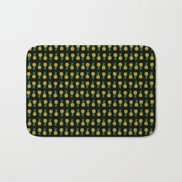Pineapple Attack Bath Mat