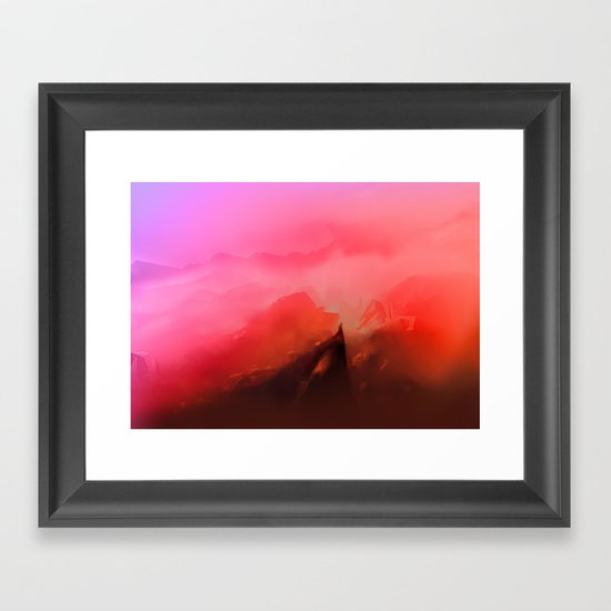 That Place Framed Art Print