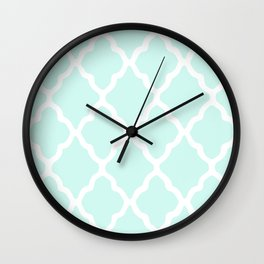White Rombs #13 The Best Wallpaper Wall Clock