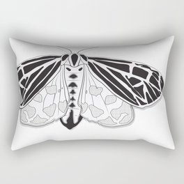 Virgin Tiger Moth Rectangular Pillow