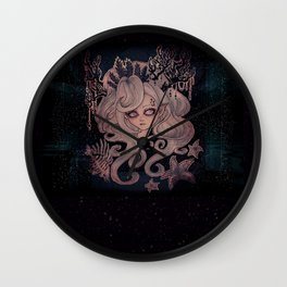 Lulu the Mermaid Wall Clock