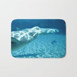 Ocean Blue Beluga Pairs Version 1 Bath Mat