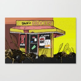 Bees in the Trap Canvas Print