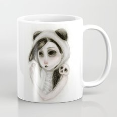 The inability to perceive with eyes notebook I Mug