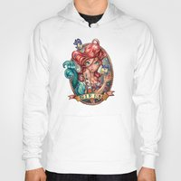 princess Hoodies featuring SIREN by Tim Shumate