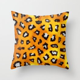 Fur XXI Throw Pillow