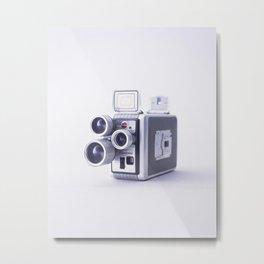 Vintage Camera 16mm Metal Print