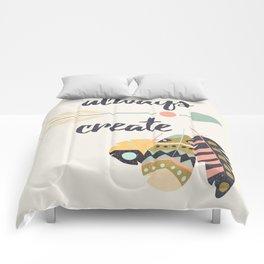 Always create Comforters