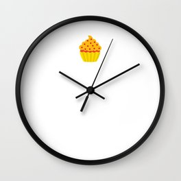 When Stressed and in Doubt Cupcake it Out T-Shirt Wall Clock