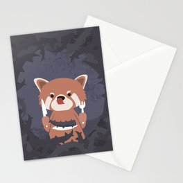 Hungry Raccoon Stationery Cards