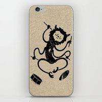 monster iPhone & iPod Skins featuring Monster by Anya Volk