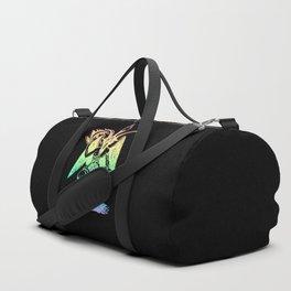 Pastel Rainbow Baphomet Duffle Bag
