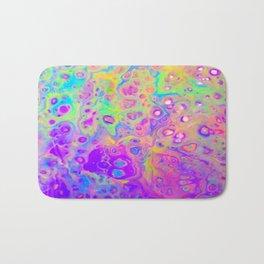 Rainbow Psychedelic Bubbles Bath Mat