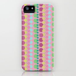 Pink & Polka Dots iPhone Case