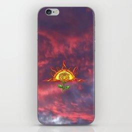 Tudor's Sunrise iPhone Skin