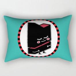 My Little Black Tronik Rectangular Pillow