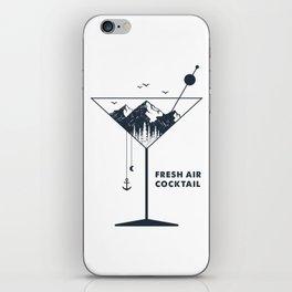 Fresh Air Cocktail iPhone Skin
