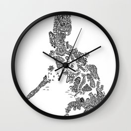Paranormal Philippines (white) Wall Clock