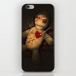 voodoo doll iPhone Skin