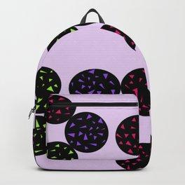 Black Globular with Spotting Color in it Backpack