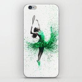 Wimbledon Woman iPhone Skin