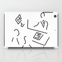 lawyer iPad Cases featuring tax adviser lawyer tax office by Lineamentum