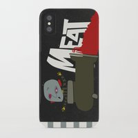 meat iPhone & iPod Cases featuring Meat by jnk2007