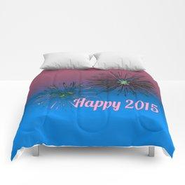 Happy 2015 Comforters