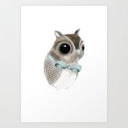 Mister Hoot Art Print