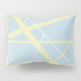 crossroads ll - diagonal line Pillow Sham
