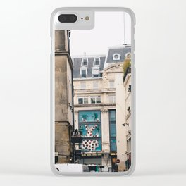 Streets in Paris Clear iPhone Case