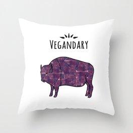 Vegandary Throw Pillow