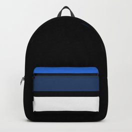 Team Colors 2....Navy and blue Backpack
